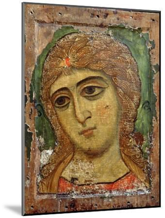 Archangel Gabriel (Angel with Golden Hair) Russian Icon, 12th Century--Mounted Giclee Print