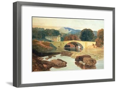 Greta Bridge, Yorkshire, 1810-John Sell Cotman-Framed Premium Giclee Print