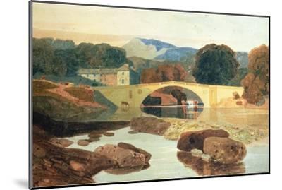 Greta Bridge, Yorkshire, 1810-John Sell Cotman-Mounted Premium Giclee Print