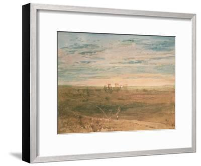 Stonehenge-J^ M^ W^ Turner-Framed Giclee Print