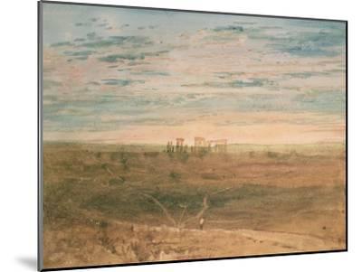 Stonehenge-J^ M^ W^ Turner-Mounted Giclee Print