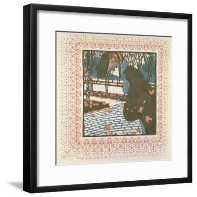 November-Kolo Moser-Framed Giclee Print