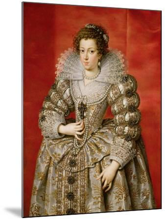 Anne of Austria (1601-66)-Frans II Pourbus-Mounted Giclee Print