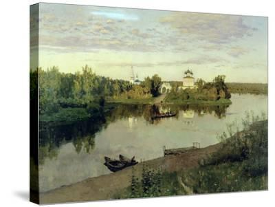 The Evening Bell Tolls, 1892-Isaak Ilyich Levitan-Stretched Canvas Print