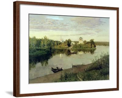 The Evening Bell Tolls, 1892-Isaak Ilyich Levitan-Framed Giclee Print