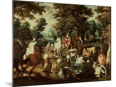 Orpheus Charming the Animals-Jacob Bouttats-Mounted Giclee Print