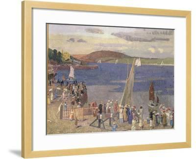 Padstow Regatta-Alfred Walter Bayes-Framed Giclee Print