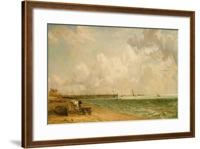 Yarmouth Jetty-John Constable-Framed Giclee Print