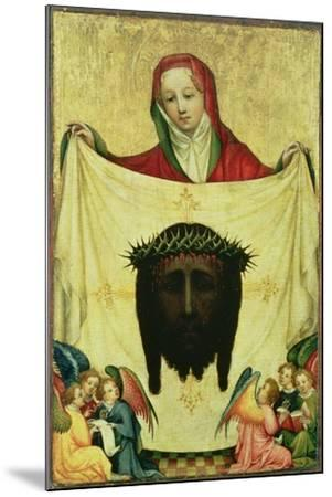 St. Veronica with the Shroud of Christ, C.1420- Master of the Munich St. Veronica-Mounted Giclee Print