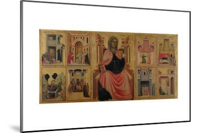St. Cecilia and Scenes from Her Life, C.1304-Master of St^ Cecilia-Mounted Giclee Print