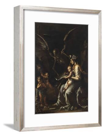 Human Frailty, C.1656-Salvator Rosa-Framed Giclee Print