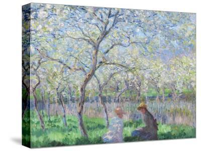 Springtime, 1886-Claude Monet-Stretched Canvas Print