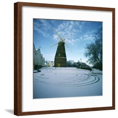 Rayleigh Windmill, Essex--Framed Photographic Print