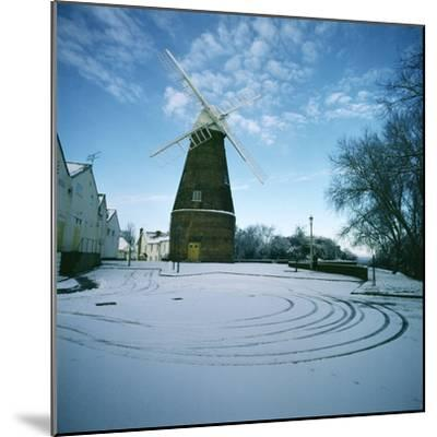Rayleigh Windmill, Essex--Mounted Photographic Print