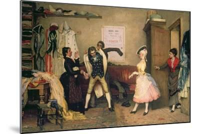 Dressing for the Masquerade-Eugen Von Blaas-Mounted Giclee Print