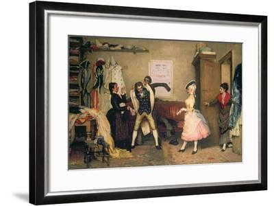 Dressing for the Masquerade-Eugen Von Blaas-Framed Giclee Print