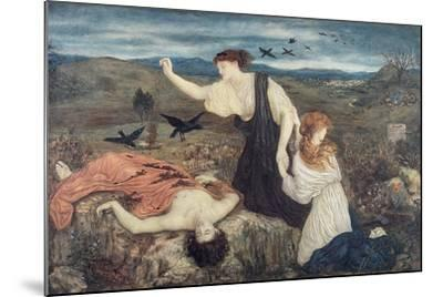 Antigone from 'Antigone' by Sophocles-Marie Spartali Stillman-Mounted Giclee Print