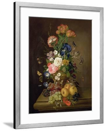 Vase of Flowers-Mary Moser-Framed Giclee Print