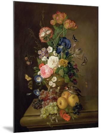 Vase of Flowers-Mary Moser-Mounted Giclee Print