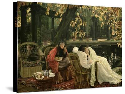 A Convalescent, C.1876-James Tissot-Stretched Canvas Print