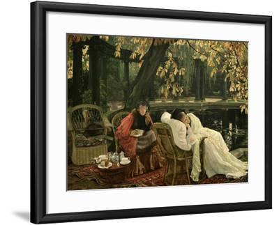 A Convalescent, C.1876-James Tissot-Framed Giclee Print