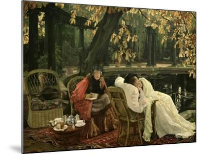 A Convalescent, C.1876-James Tissot-Mounted Giclee Print