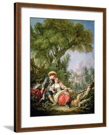 The Rest, 1764-Francois Boucher-Framed Giclee Print