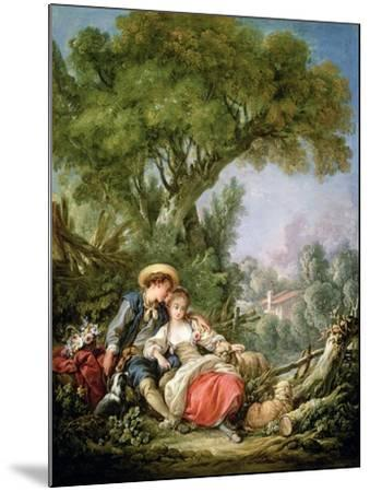 The Rest, 1764-Francois Boucher-Mounted Giclee Print