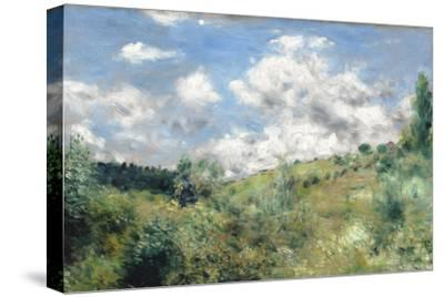 The Gust of Wind, C.1872-Pierre-Auguste Renoir-Stretched Canvas Print