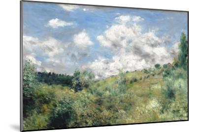 The Gust of Wind, C.1872-Pierre-Auguste Renoir-Mounted Premium Giclee Print