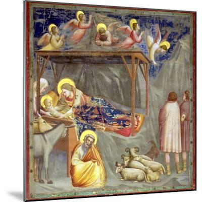 The Nativity, C.1305-Giotto di Bondone-Mounted Giclee Print