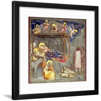 The Nativity, C.1305-Giotto di Bondone-Framed Giclee Print