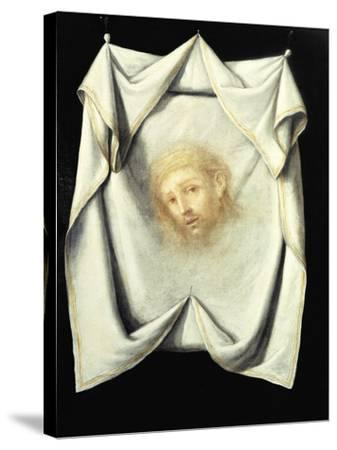 The Holy Face-Francisco de Zurbar?n-Stretched Canvas Print