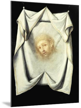 The Holy Face-Francisco de Zurbar?n-Mounted Giclee Print