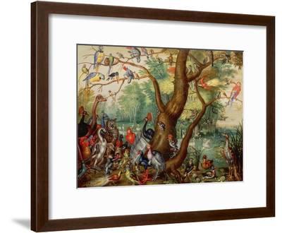 Concert of Birds-Jan Van, The Elder Kessel-Framed Giclee Print