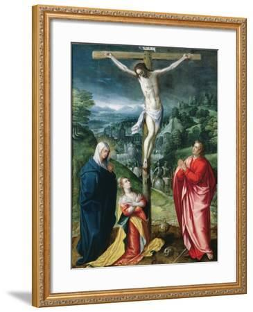 The Crucifixion--Framed Giclee Print