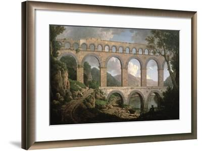 Pont Du Gard, Nimes-William Marlow-Framed Giclee Print