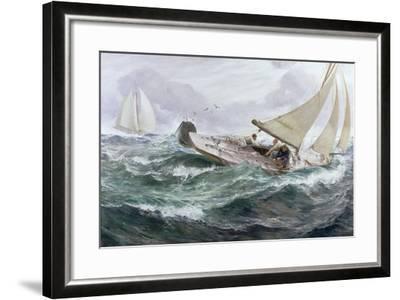 Youth, 1889-Charles Napier Hemy-Framed Giclee Print