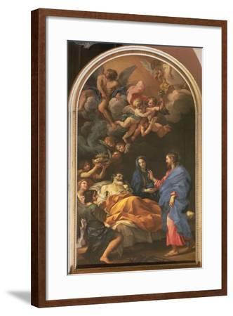 The Death of St. Joseph, 1676-Carlo Maratta or Maratti-Framed Giclee Print