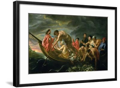 The Miraculous Draught of Fishes, C.1640-Jacob Jordaens-Framed Giclee Print