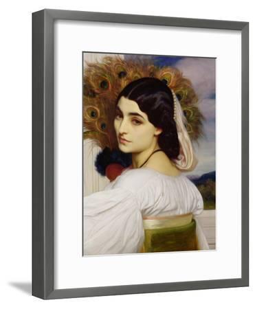 Pavonia, 1859-Frederick Leighton-Framed Giclee Print