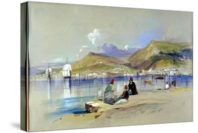 Zante, 1848-Edward Lear-Stretched Canvas Print