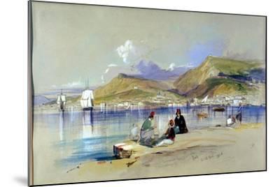Zante, 1848-Edward Lear-Mounted Giclee Print