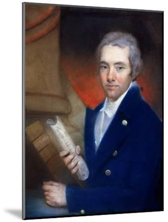 Portrait of William Wilberforce (1759-1833) by William Lane (1746-1819)-John Russell-Mounted Giclee Print