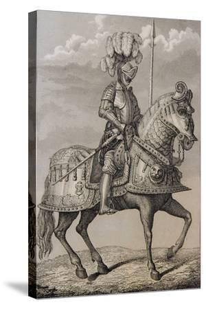 Charles V (1500-58)'s Armour Preserved in the Royal Armoury, Madrid, Spain--Stretched Canvas Print