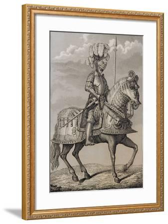 Charles V (1500-58)'s Armour Preserved in the Royal Armoury, Madrid, Spain--Framed Giclee Print