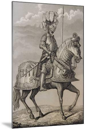 Charles V (1500-58)'s Armour Preserved in the Royal Armoury, Madrid, Spain--Mounted Giclee Print