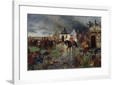 Wallenstein: a Scene of the Thirty Years War-Ernest Crofts-Framed Giclee Print