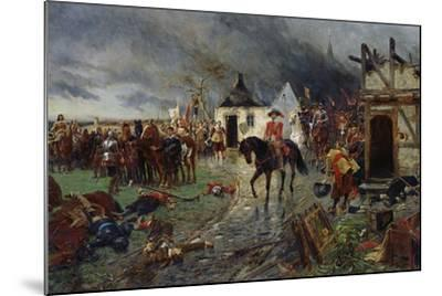 Wallenstein: a Scene of the Thirty Years War-Ernest Crofts-Mounted Giclee Print