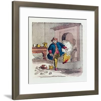 A Visit from St. Nicholas, 1840s-T.C. Boyd-Framed Giclee Print